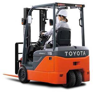 Xe Nang Dien 3 Banh Toyota