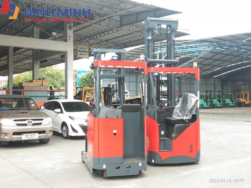 Xe nâng điện đứng lái Heli 1.5 tấn G2 series