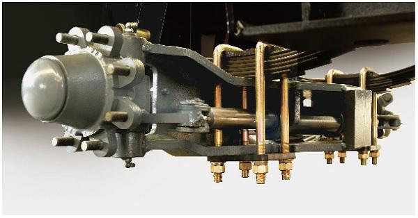Hệ thống xilanh bánh lái treo đàn hồi