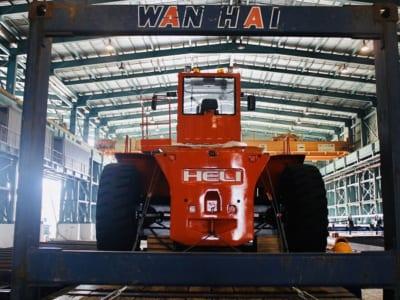 Xe nâng 42 tấn CPCD420 -VD-12III