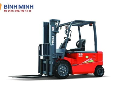 Xe nâng điện Lithium 3 tấn