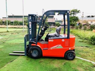 Xe nâng điện ngồi lái 2 tấn CPD20-GC1